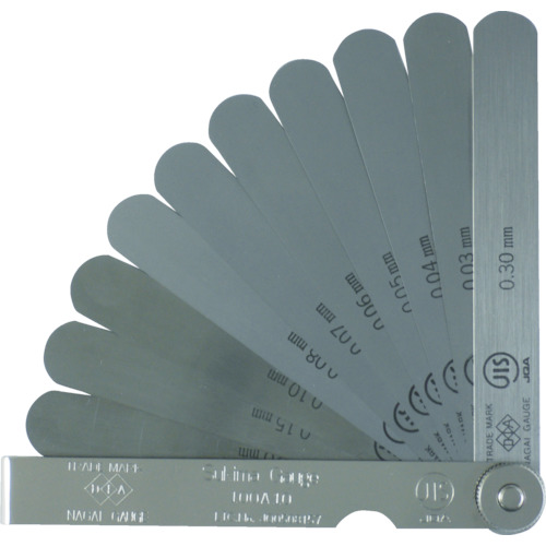 ファッション JIS規格すきまゲージ 150A25:工具屋のプロ 店 DIA(永井ゲージ)-DIY・工具