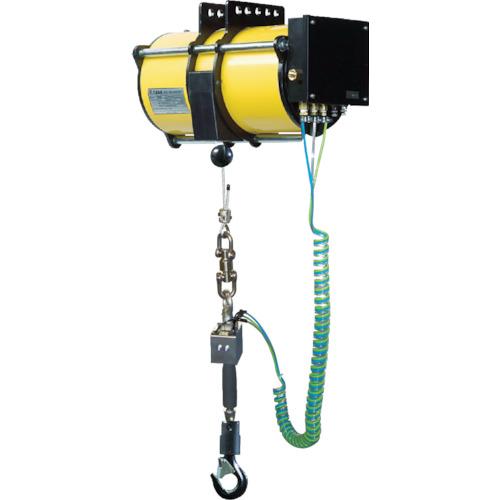 【直送】【代引不可】ENDO(遠藤工業) エアバランサー 防爆 グリップ操作タイプ(落下防止装置付) 32~55kg EHB-50_MS-AG