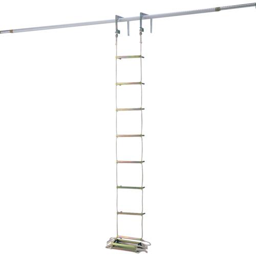 【直送】【代引不可】Pica(ピカ) 避難用ロープはしご 4m EK-4