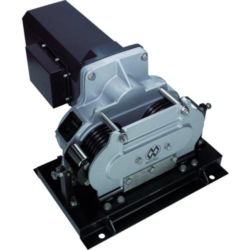 【直送】【代引不可】マックスプル工業 往復牽引エンドレス式電動ウインチ EME-400