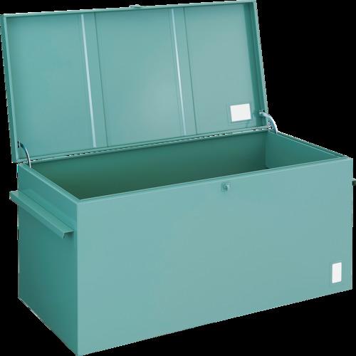 【直送】【代引不可】TRUSCO(トラスコ) 大型車載用工具箱中皿なし914X750X590 F-1001