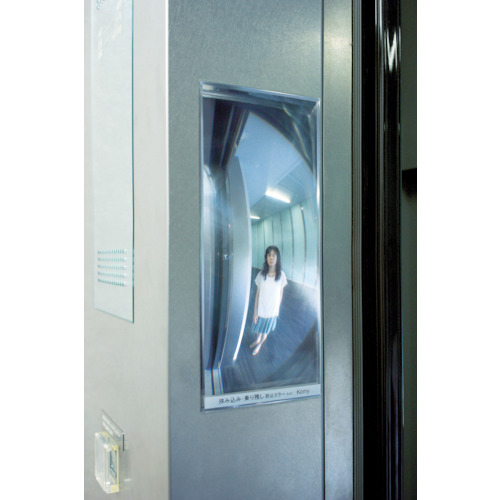 コミー エレベーター用FFミラーEV 85X205X2.1 F9BN
