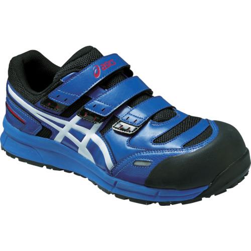 アシックス 安全靴 ウィンジョブCP102 ブルーXホワイト 25.0cm FCP102.4201-25.0