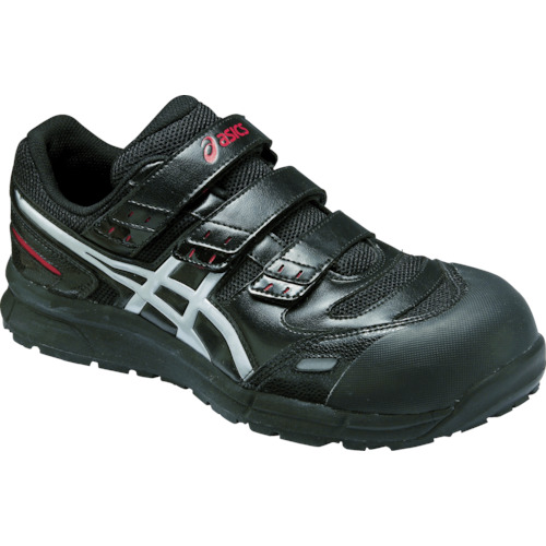 アシックス 安全靴 ウィンジョブCP102 ブラックXシルバー 25.5cm FCP102.9093-25.5