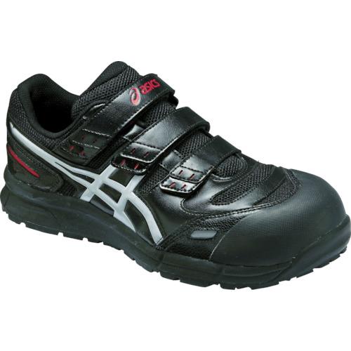 アシックス 安全靴 ウィンジョブCP102 ブラックXシルバー 28.0cm FCP102.9093-28.0