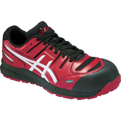 アシックス 安全靴 ウィンジョブCP103 レッドXホワイト 23.5cm FCP103.2301-23.5