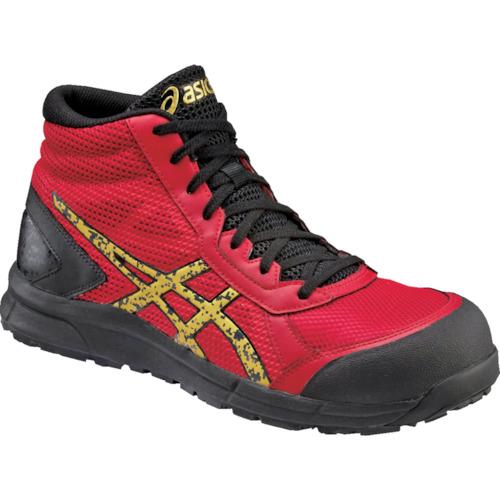 ASICS(アシックス) 作業靴 ウィンジョブCP104 トゥルーレッドXゴールド 25.5cm FCP104.2394-25.5