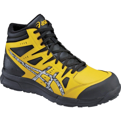 ASICS(アシックス) 作業靴 ウィンジョブCP105 ブライトイエローXシルバー 25.5cm FCP105.0393-25.5