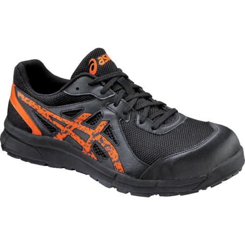 ASICS(アシックス) 作業靴 ウィンジョブCP106 ブラックXオレンジポップ22.5cm FCP106.9009-22.5