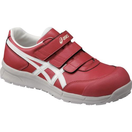 ASICS(アシックス) 作業靴 ウィンジョブ CP301 レッド×ホワイト 25.0cm FCP301.2301-25.0