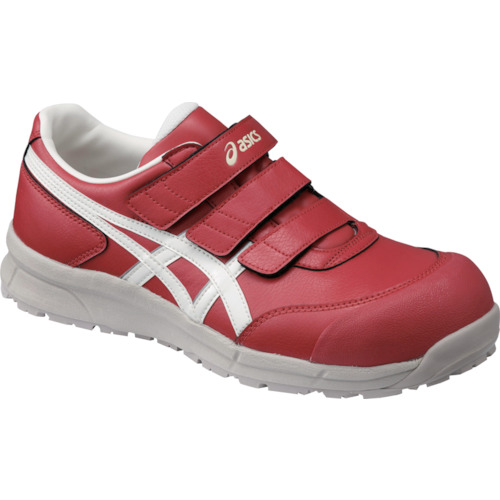 ASICS(アシックス) 作業靴 ウィンジョブ CP301 レッド×ホワイト 28.0cm FCP301.2301-28.0