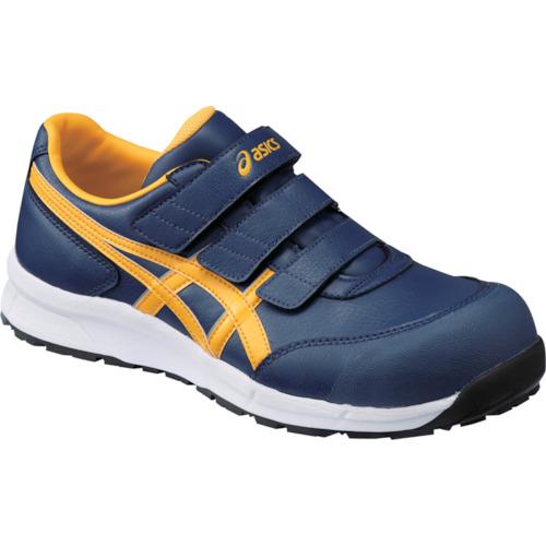 ASICS(アシックス) 作業靴 ウィンジョブ CP301 インシグニアブルー×ゴールド 27.5cm FCP301.5004-27.5