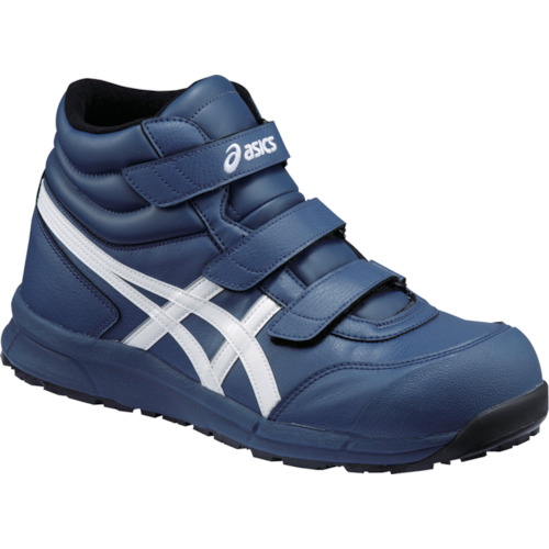 ASICS(アシックス) 作業靴 ウィンジョブ CP302 インシグニアブルー×ホワイト 25.0cm FCP302.5001-25.0