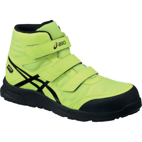 ASICS(アシックス) 作業靴 ウィンジョブ CP601 フラッシュイエロー×ブラック 25.0cm FCP601.0790-25.0