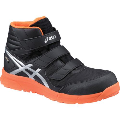 ASICS(アシックス) 作業靴 ウィンジョブ CP601 ブラック×シルバー 26.0cm FCP601.9093-26.0
