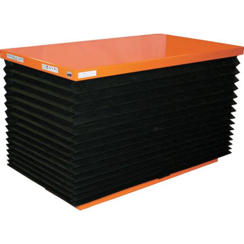【直送】【代引不可】TRUSCO(トラスコ) ピットレスローリフト 500kg 電動式 1050X650 FLNJ50-610