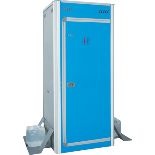 【直送】【代引不可】アクト石原 簡易仮設トイレ FOT-003-B ボックスのみ