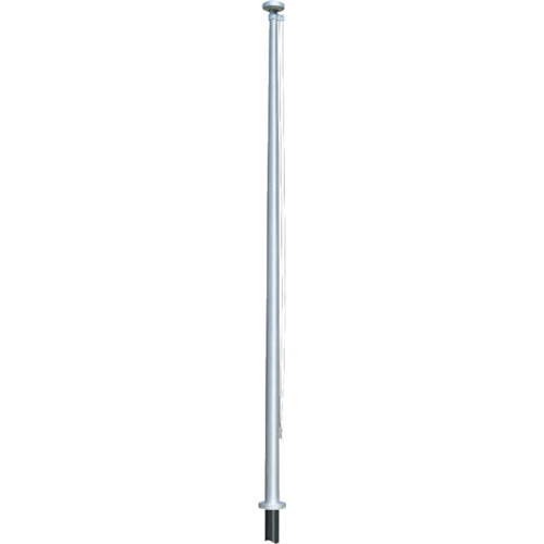 【直送】【代引不可】サンポール 旗ポールロープ型 埋め込み式 5m FP-5U