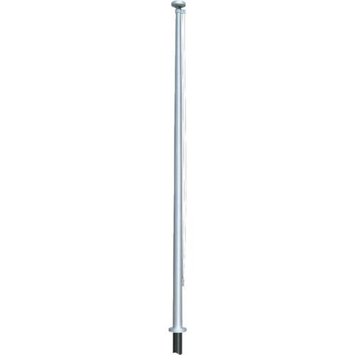 【直送】【代引不可】サンポール 旗ポールロープ型 埋め込み式 7m FP-7U