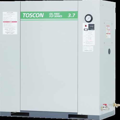 【直送】【代引不可】東芝産業機械 静音シリーズ 給油式 コンプレッサ(低圧) FP85-15T