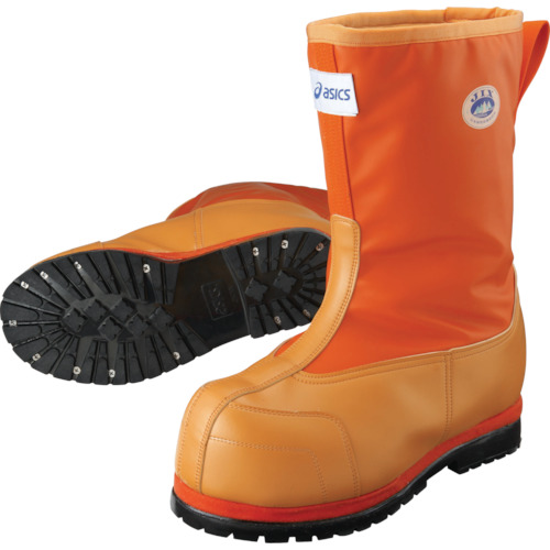アシックス 作業用防寒靴 W-DX-II オレンジ 28.5cm FPB001.09-28.5