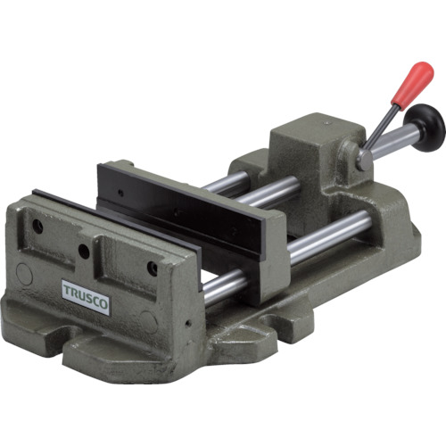 【直送】【代引不可】TRUSCO(トラスコ) クイックグリップバイス(F型) 200mm FQ-200