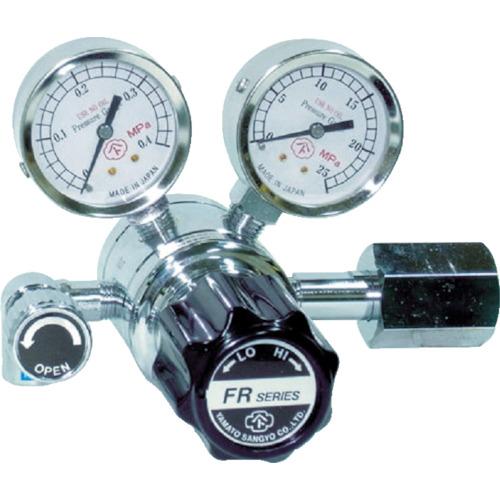 ヤマト産業 分析機用二段圧力調整器 ヘリウム FR1BTRC13
