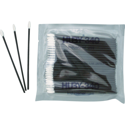 HUBY フラットスワイプ 先端平型0.5X3.8mm 導電プラ軸 12500本入 FS-010