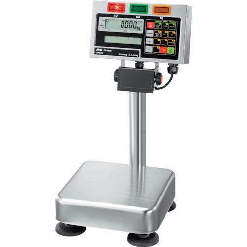 【直送】【代引不可】A&D(エー・アンド・ディ) 防塵防水デジタル台はかり チェックスケール 15kg FS15KI