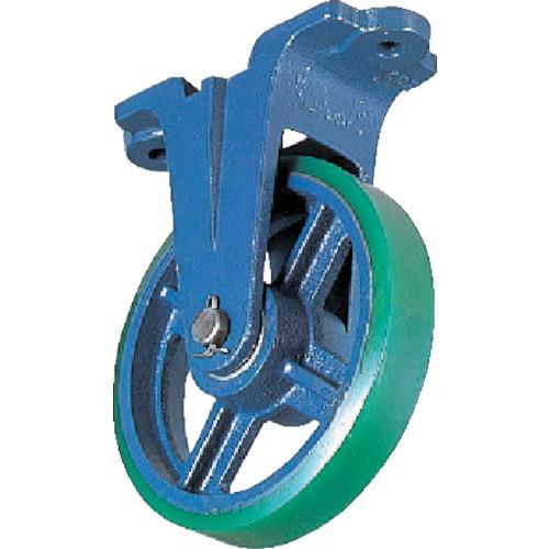 京町産業車輌 鋳物キャスター(ウレタン車輪) 250mm FU-250