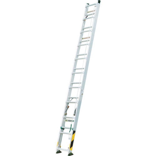 【直送】【代引不可】ナカオ 脚伸縮式2漣はしご ピッチ 全長8.11m FU-81