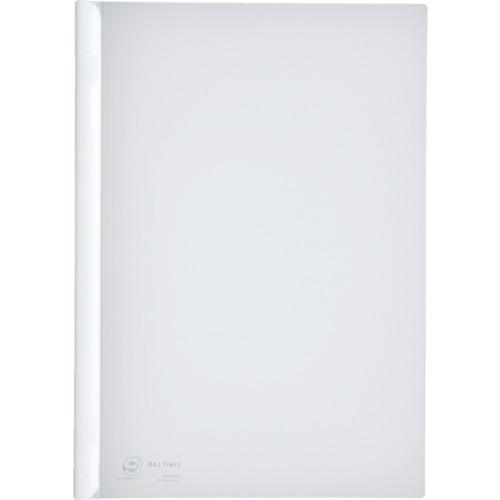 LIHIT(リヒト) A4/S厚綴じスライドバーファイル(10冊入) 白 10組 G1730-0