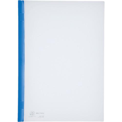 LIHIT(リヒト) A4/S厚綴じスライドバーファイル(10冊入) 青 10組 G1730-8