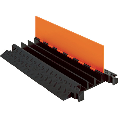 【直送】【代引不可】CHECKERS(チェッカーズ) ガードドッグ ケーブルプロテクタ 中重量型 電線3本 GD3X225-O/B