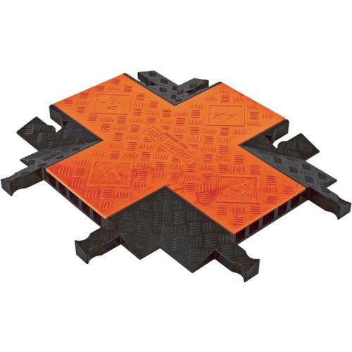 CHECKERS ガードドッグ ケーブルプロテクタ 中重量型電線5本用クロス GDCR5X1255-O/B