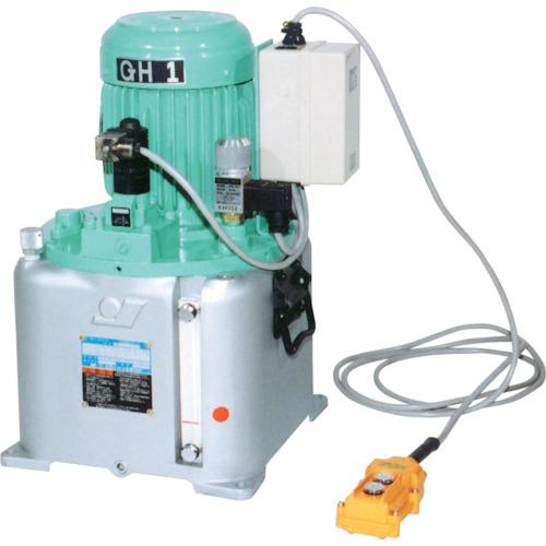 【直送】【代引不可】OJ(大阪ジャッキ製作所) 電動油圧ポンプ 単動式 電磁弁 GH1/2-E