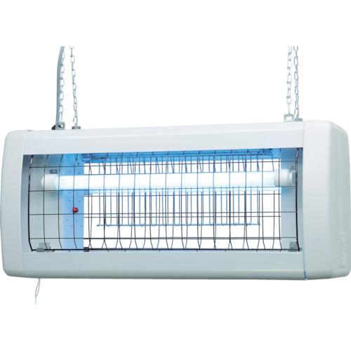 【直送】【代引不可】SURE(石崎電機製作所) 電撃殺虫器 屋外用 20W2灯式 GK-6200Z