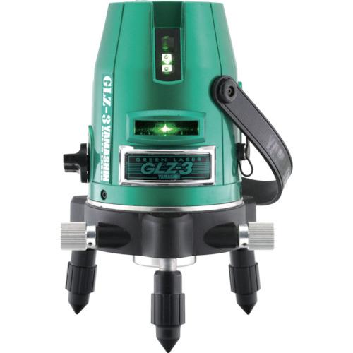 YAMASIN レーザー墨出器 グリーンレーザー GLZ-3-W