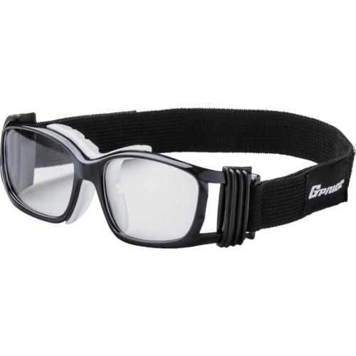 EYE-GLOVE 二眼型安全ゴーグル ブラック+度付レンズセット(マルチコート) GP-88M-BK-M