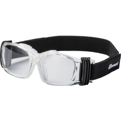 EYE-GLOVE 二眼型安全ゴーグル クリア+度付レンズセット(マルチコート) GP-88M-CL-M