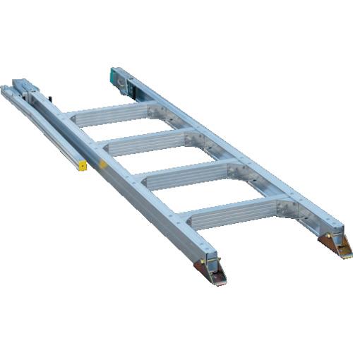 【直送】【代引不可】ALINCO(アルインコ) アルミ合金製トラック昇降はしご「楽トラ」5段 GXT18T