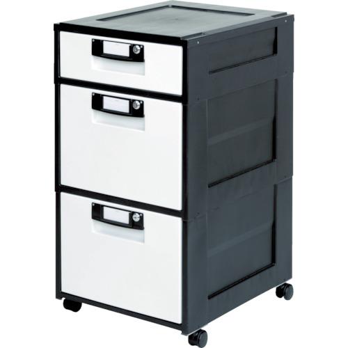 IRIS(アイリスオーヤマ) オフィスキャビネット 425X509XH784 ブラック HG-312-BK