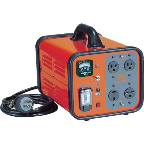【直送】【代引不可】ハタヤリミテッド 変圧器 トランスル 昇降圧兼用型 単相200V・100V 3.0kVA HLV-03A