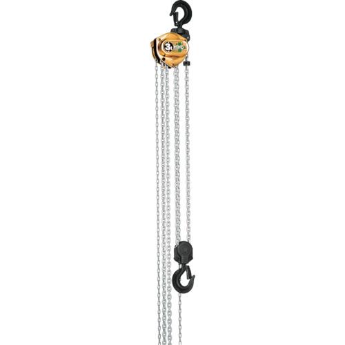【直送】【代引不可】象印チェンブロック トルコン機能付超小型チェーンブロック ホイストマン 5t HM3-05030