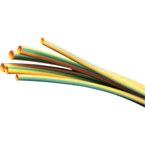 【直送】【代引不可】パンドウイット 熱収縮チュ-ブ イエローグリーン (5本入) HSTT100-48-545