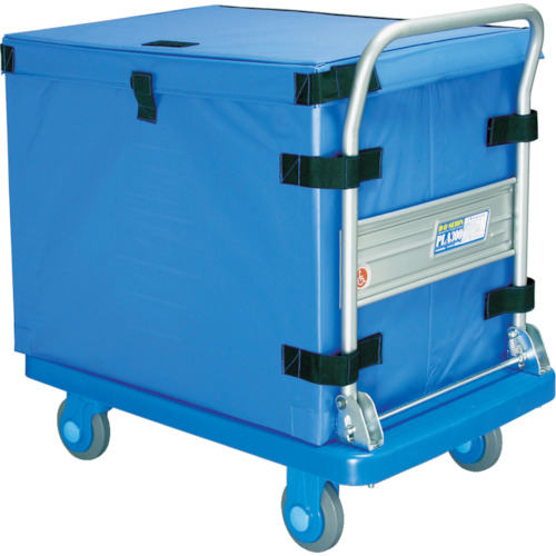 カナツー シートボックス 660X500X500 ブルー HT-BOX565 B