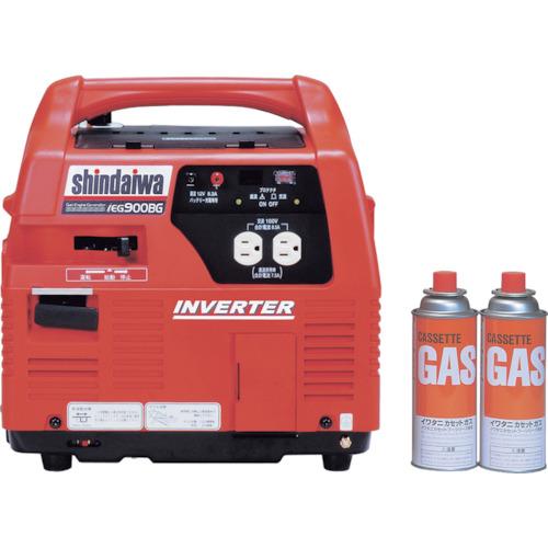 【直送】【代引不可】新ダイワ(やまびこ) インバータガスエンジン発電機 IEG900BG