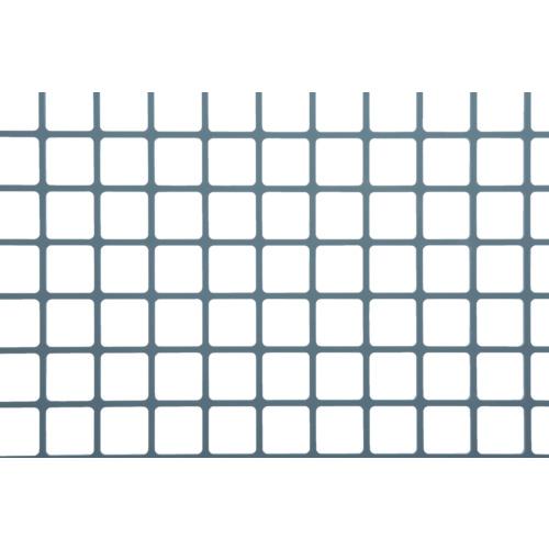 奥谷金網 樹脂パンチング 1.0TX角孔20XP23 910X910 グレー JP-PVC-T1S20P23-910X910/GRY