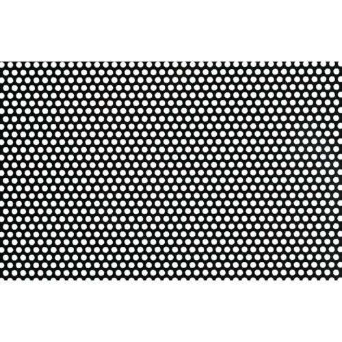 奥谷金網 樹脂パンチング 2.0TXD5XP8 910X910 ブラック JP-PVC-T2D5P8-910X910/BLK