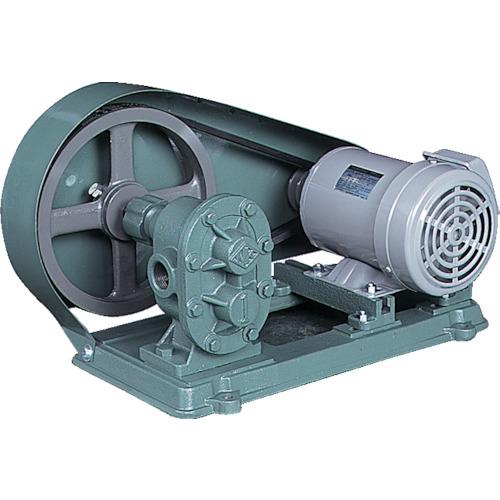 【直送】【代引不可】NK(亀嶋鐵工所) ギアポンプ 電動機連結型 56~70L/min KAS10